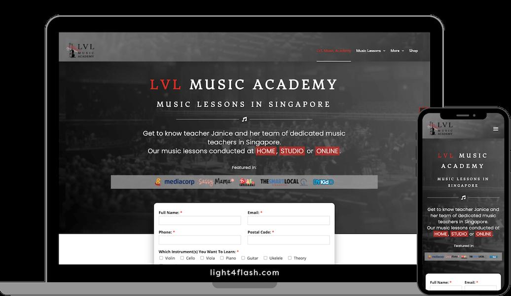LVLMusicAcademy.com