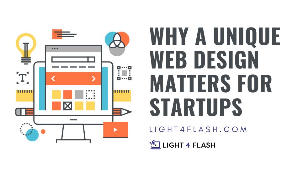 a unique web design matters